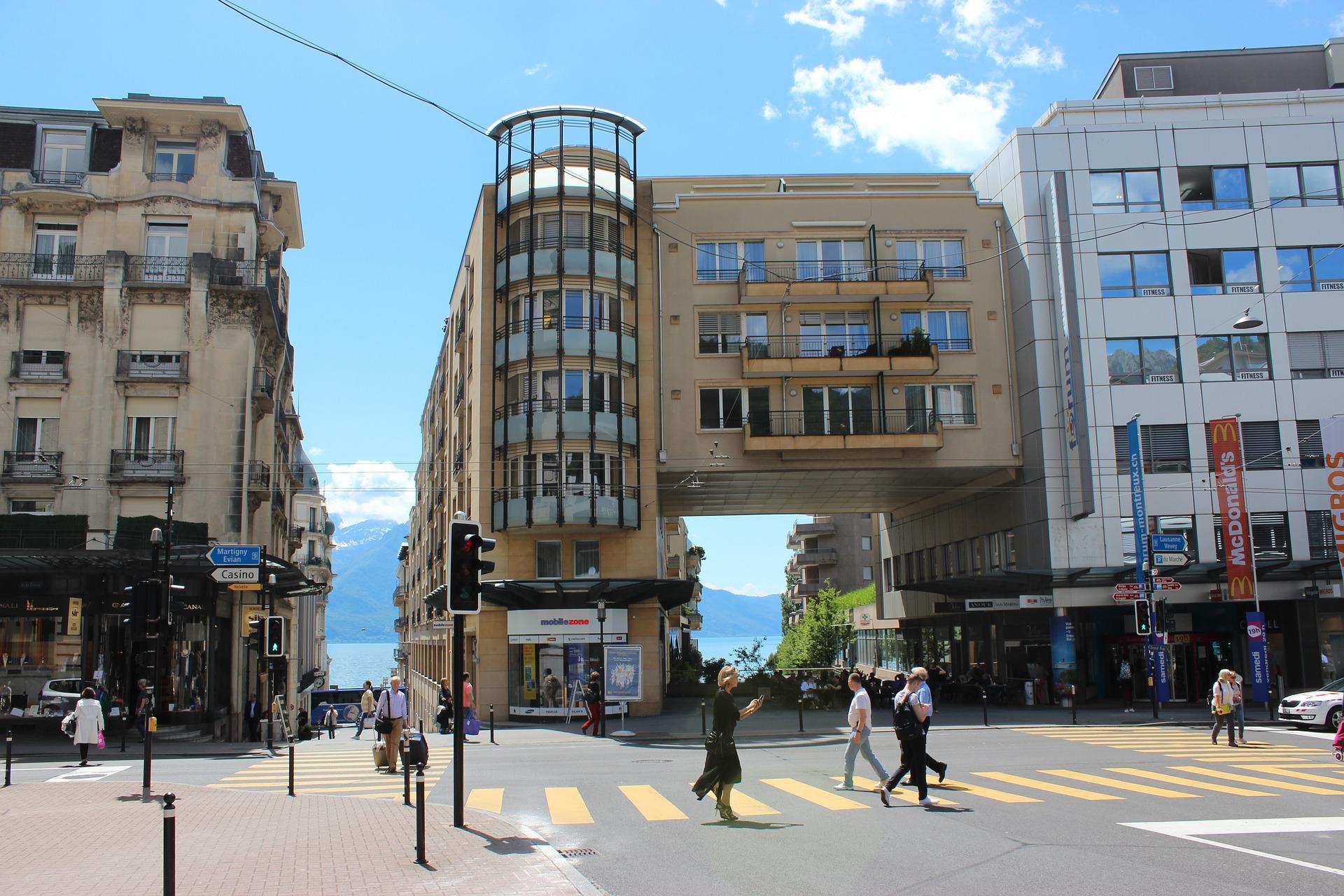 vendre terrain Montreux