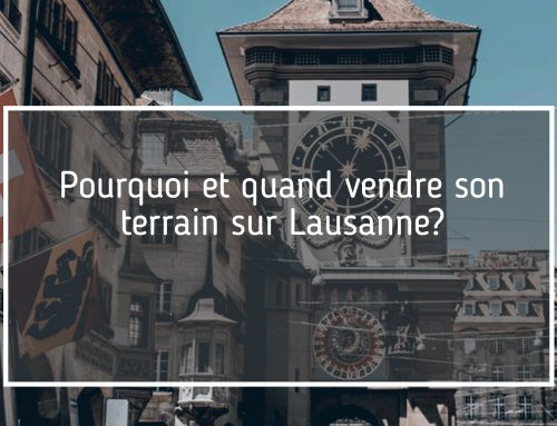 terrain à vendre à Lausanne