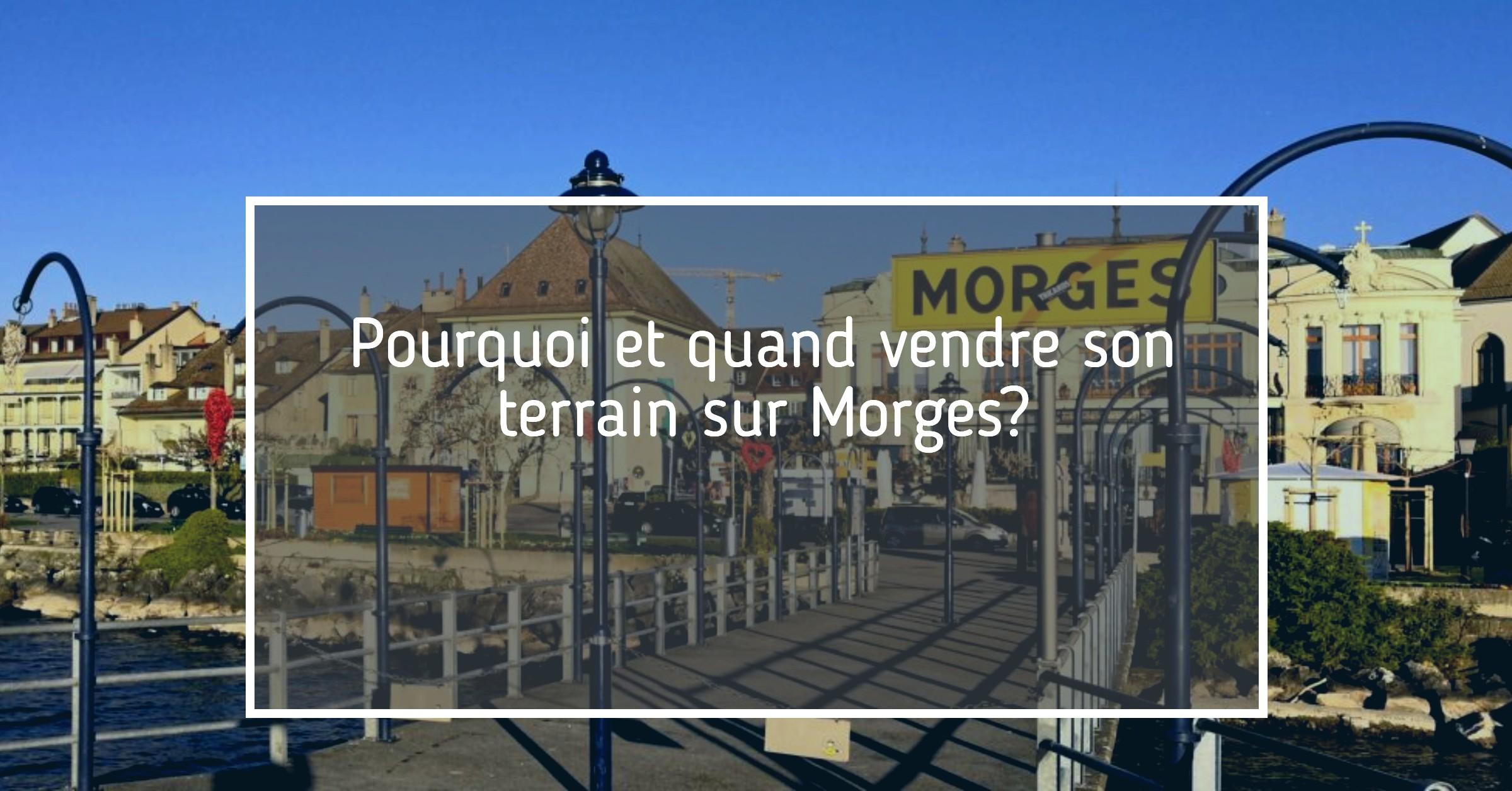 Vente terrain Morges