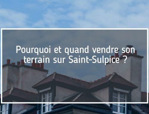vente terrain constructible à Saint-Sulpice 1025